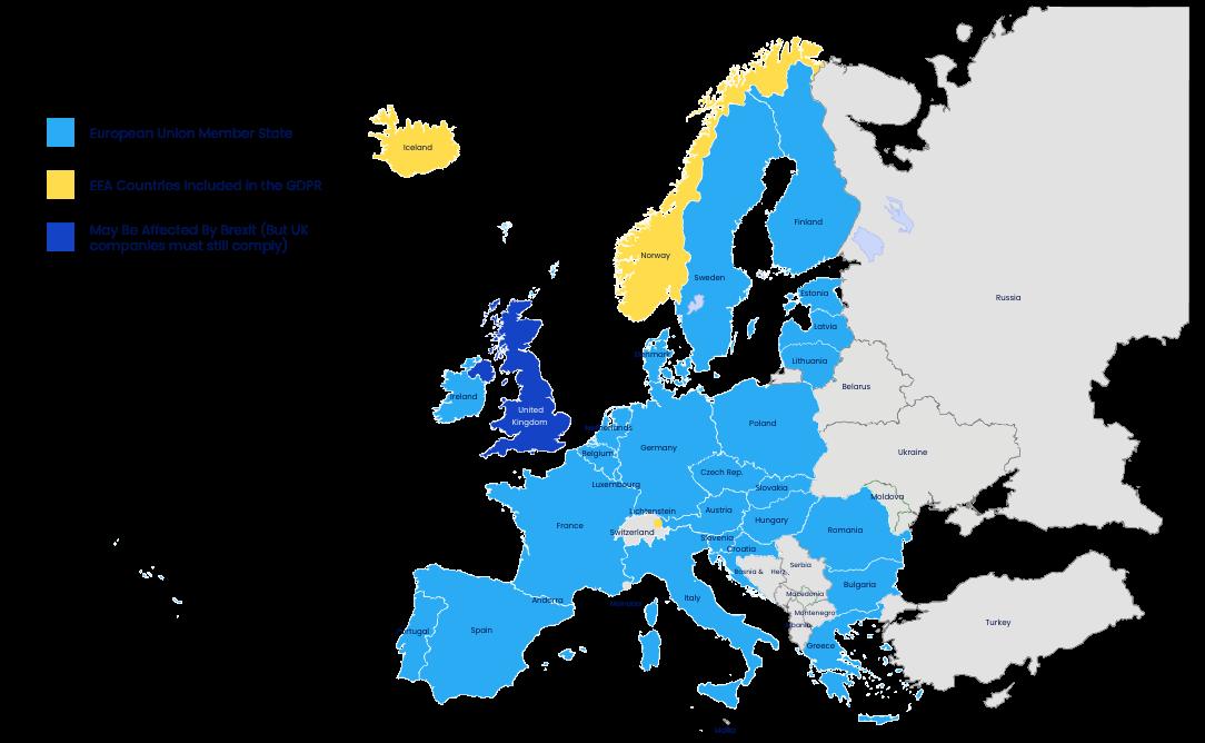 GDPR Map